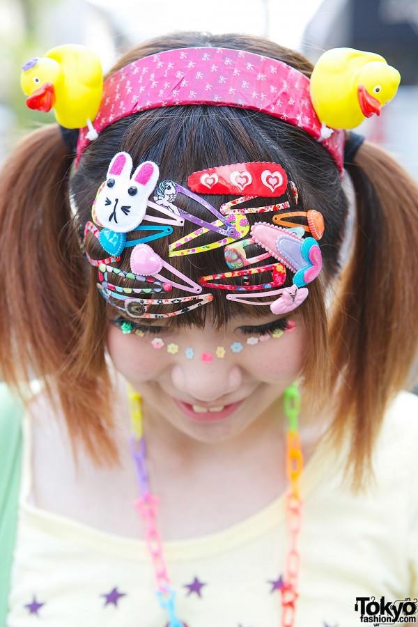 Kanjani8 Fan W Decora Hair Clips Rubber Duckies Amp Lace