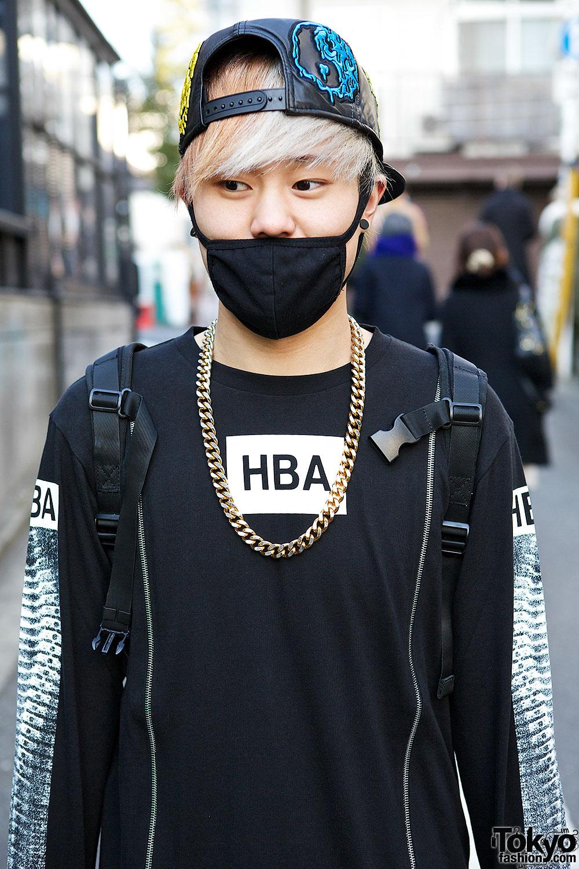 Masked Harajuku DJs W KTZ Hood By Air Jeremy Scott