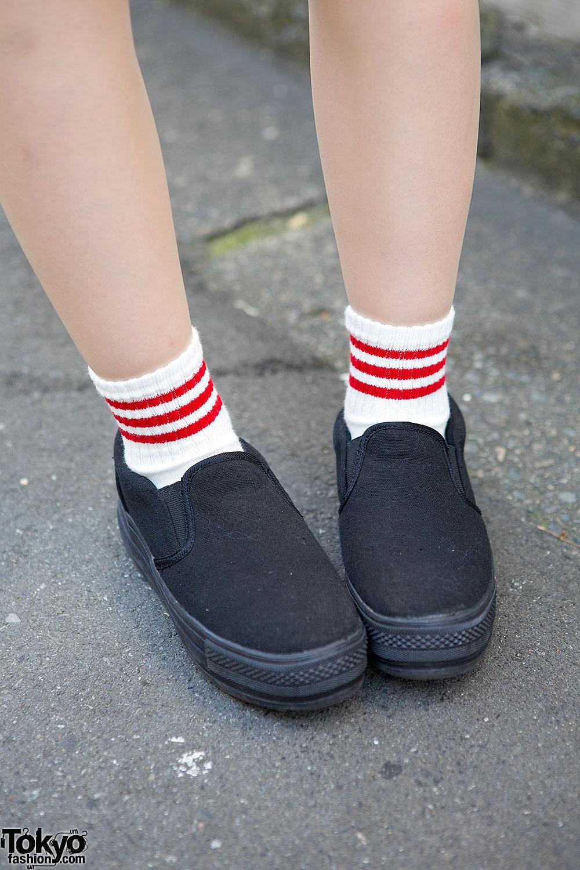 Harajuku Girl w Twin Tails  Bandana Sports Jersey Dress