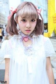harajuku girls with pastel hair
