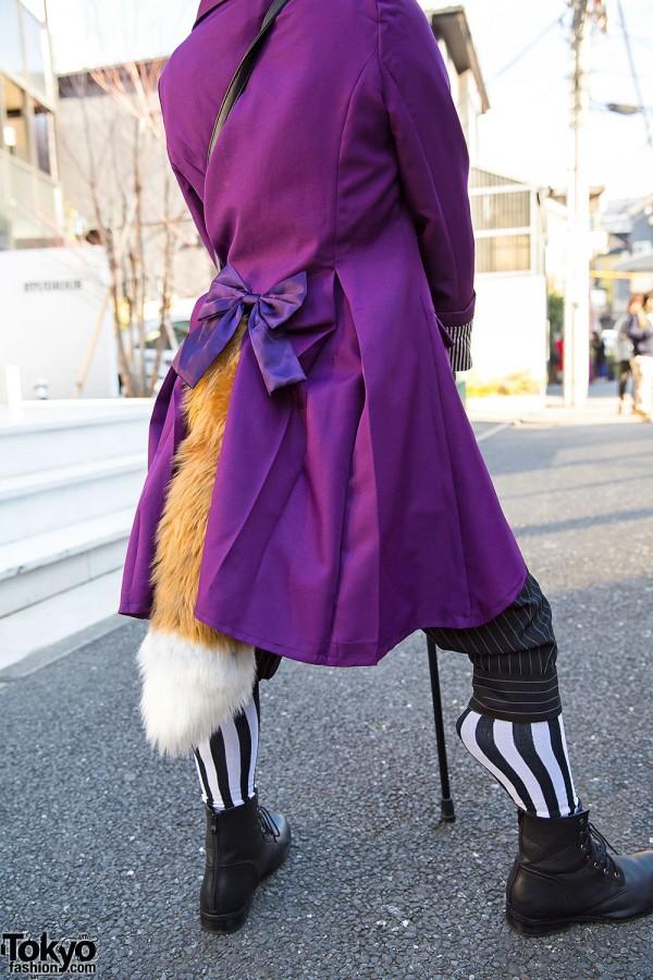Fox in Striped Tights