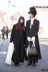 Dark Harajuku Fashion w/ Alice Auaa, Black Peace Now ...