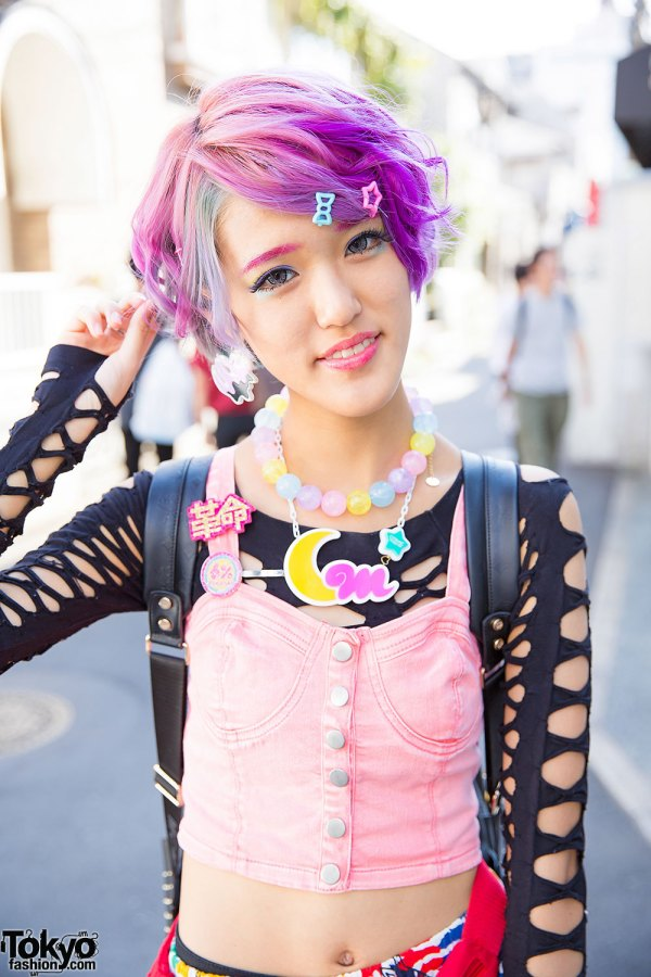 Kawaii Harajuku Styles With Pastel Hair 6 Dokidoki Cosmic