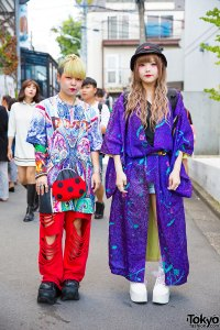 Colorful Outfits w/ Kimono, Dog Harajuku, Demonia, Cayhane ...