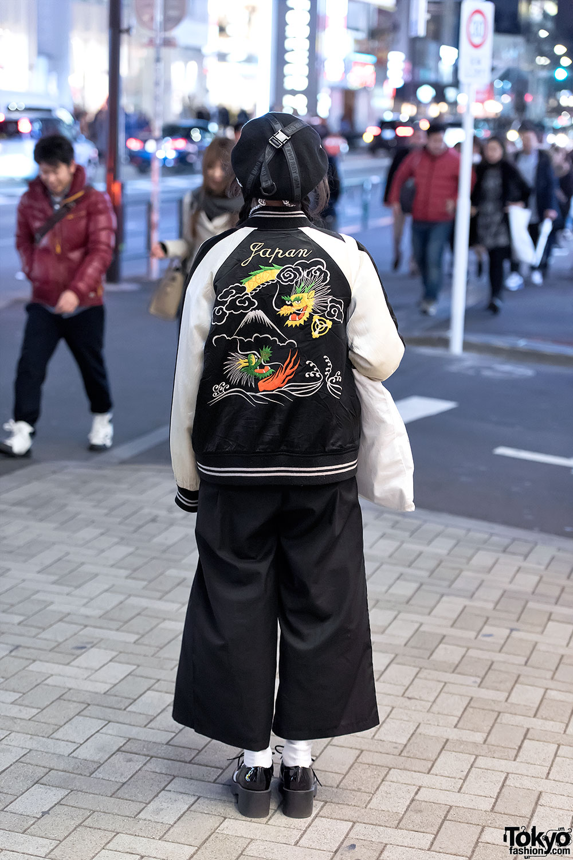 Japanese Sukajan Jacket MYOB Hat  DVMVGE Septum Ring in