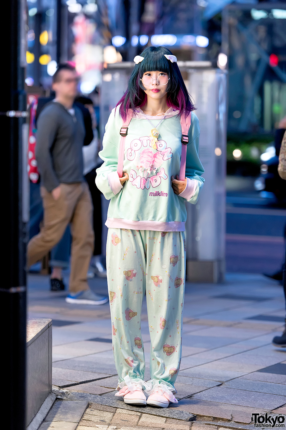 Milklim Sweatshirt Menhera Chan Backpack Pajama Pants