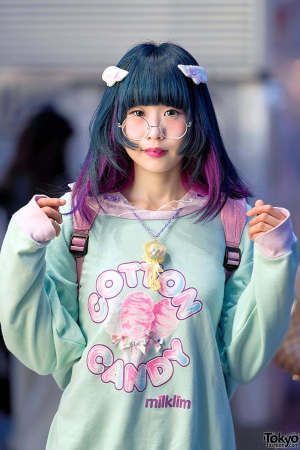 Milklim Sweatshirt Menherachan Backpack Pajama Pants  Wings in Harajuku