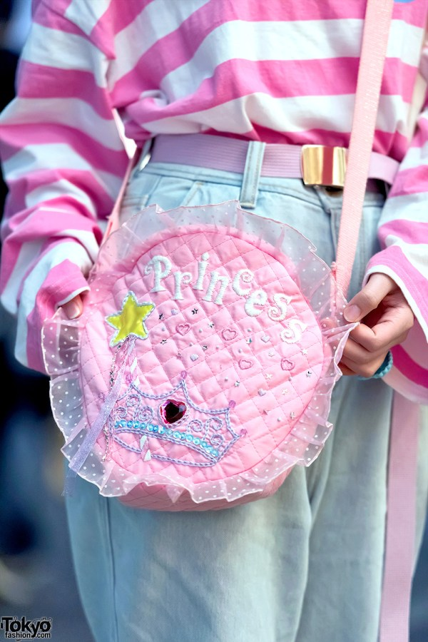 Pink Harajuku Style With Neon Moon Fancy Surprise Spank