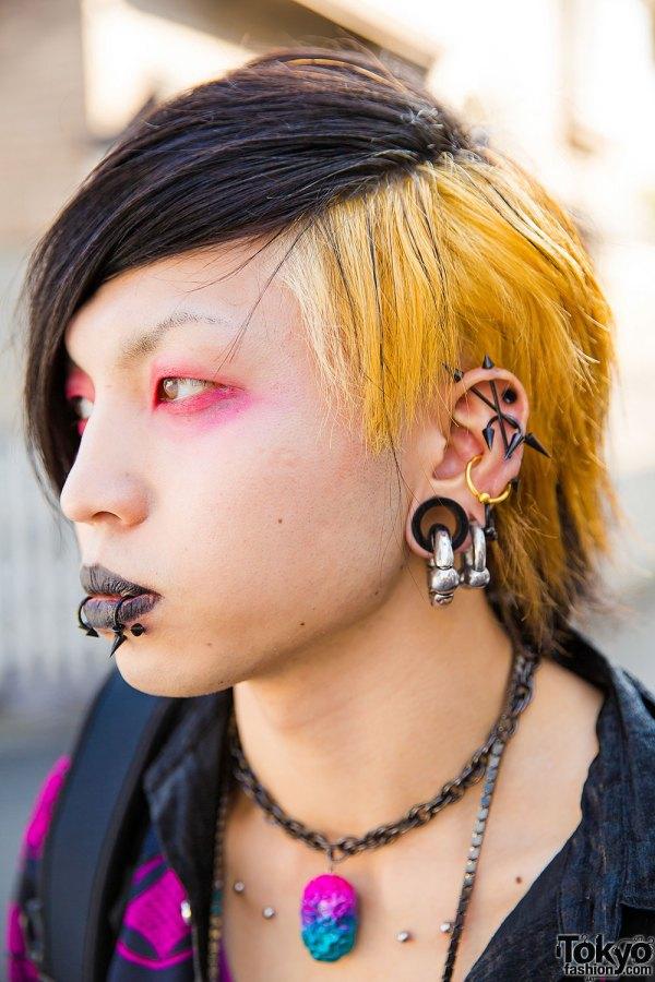 Dark Harajuku Styles With Body Piercings Barokue Brain