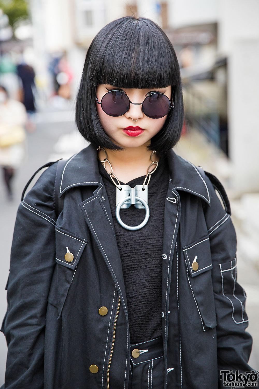 Dark Harajuku Street Fashion W Never Mind The XU Michiko