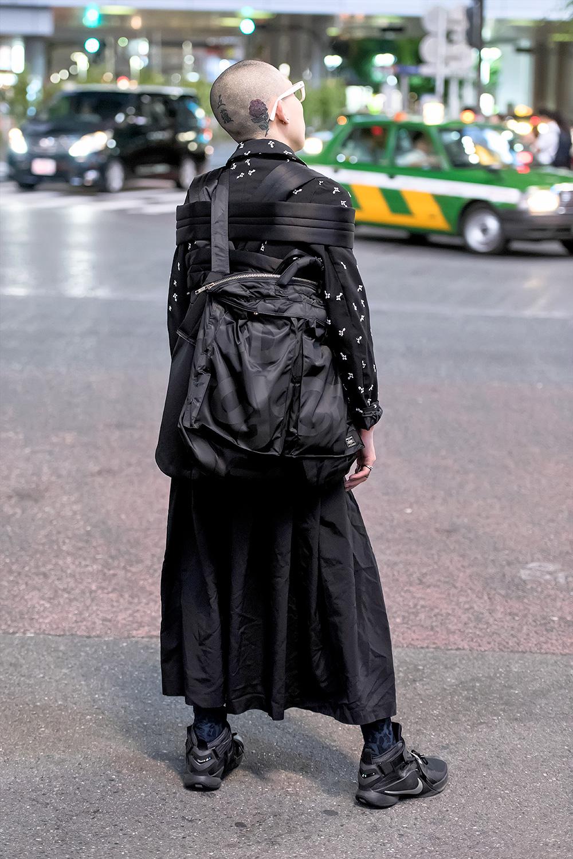 Avantgarde Japanese Street Style w Comme Des Garcons