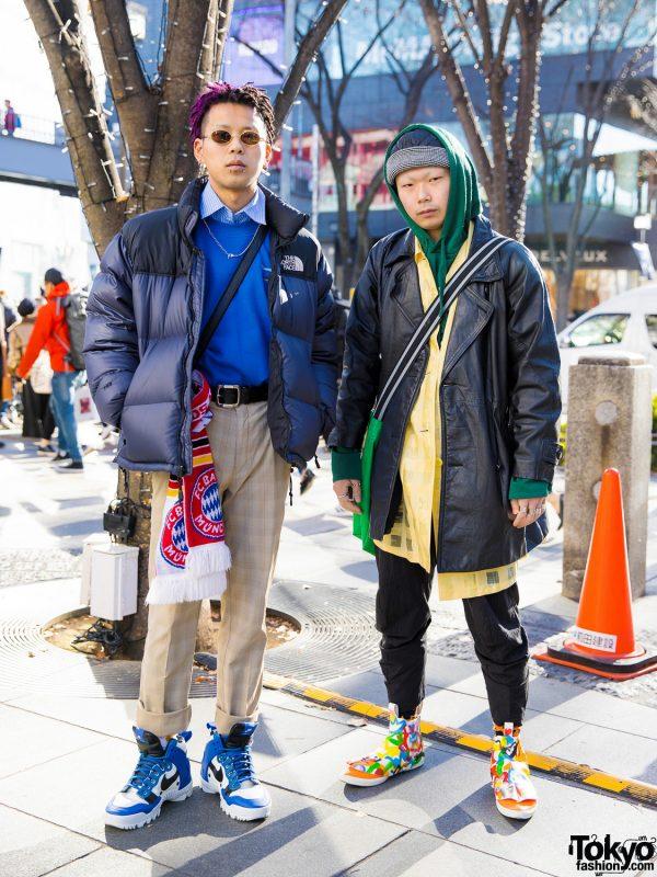 Harajuku Guys Winter Street Styles w/ Comme des Garcons. Maison Margiela. Chrome Hearts. Faith Tokyo & Nike