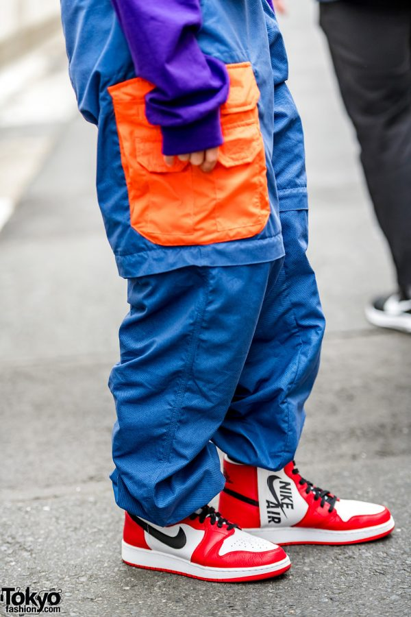 Black And Black And And Red Jordans Purple And Orange And Yellow