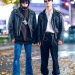 Tokyo Mens Street Styles W Motorcycle Jackets John Lawrence Sullivan Yosuke Vaquera Kidill Loafers Tokyo Fashion