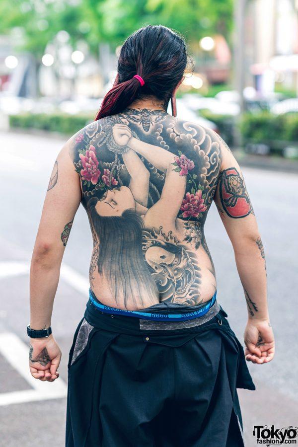 Body Modification Artist In Harajuku W Split Tongue