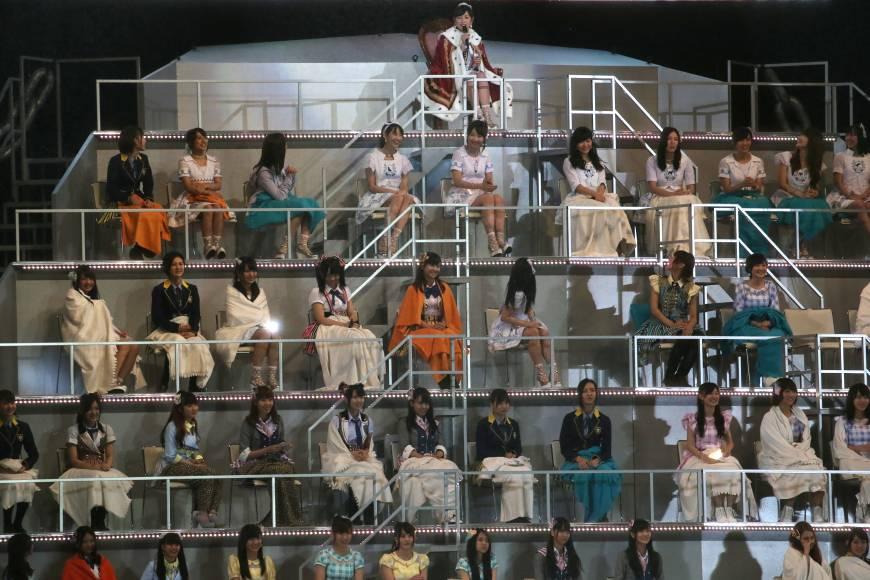 AKB48 on stage