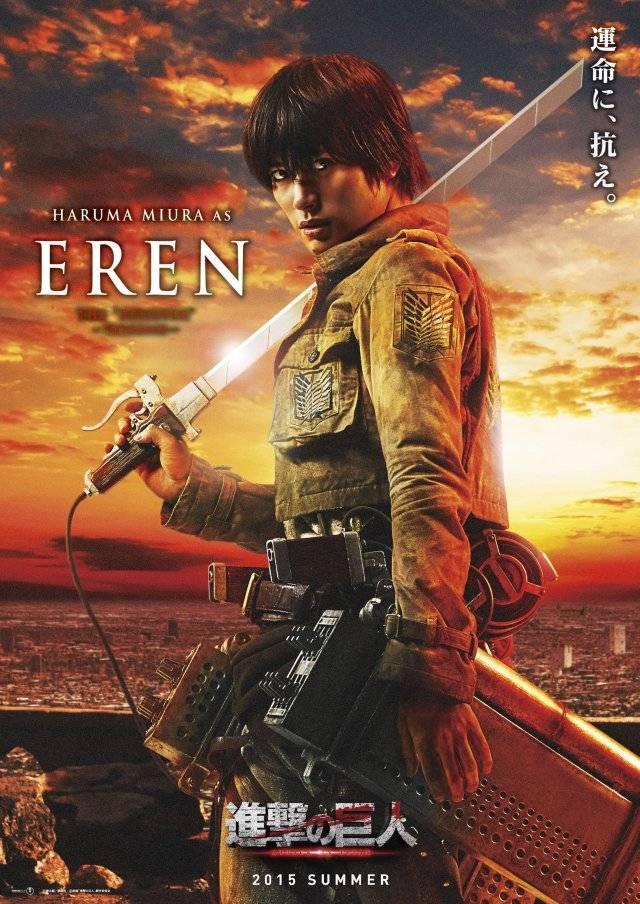 Shingeki No Kyojin Film : shingeki, kyojin, Roles, 'Shingeki, Kyojin', Live-action, Revealed, Tokyohive