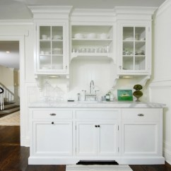 Kitchen Glass Cabinets Colors For Kitchens Form Versus Function Inset Or Overlay Cabinet Doors White Via Decor Pad Muse Interiors