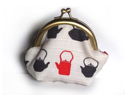 cheeky leopard teapot coin purse