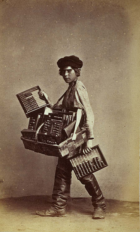 russian abacus seller