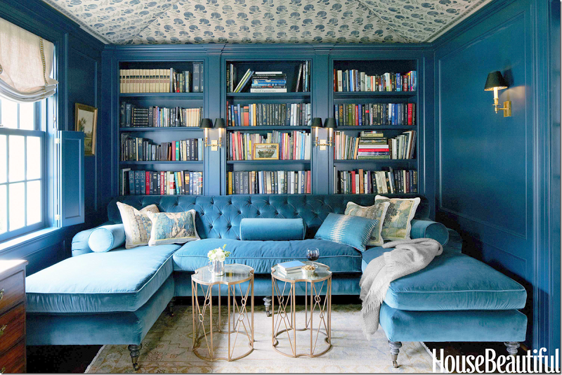 dunham sofa loveseat beds feeling blue…the perfect library