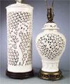 pierced lamps