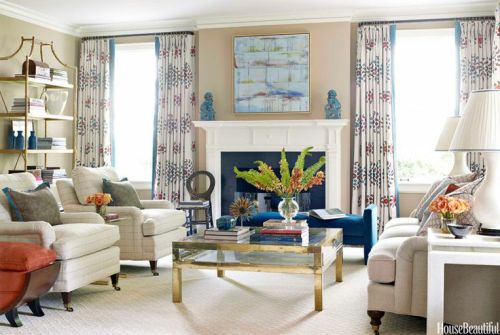 Lindsey Coral Harper - House Beautiful brass and glass