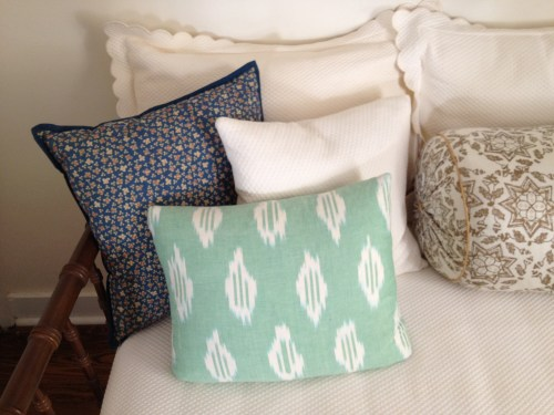 pillow mix Robshaw Ralph Lauren  Nathan Turner bamboo daybed