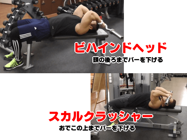 Barbell Lying Triceps Extension7