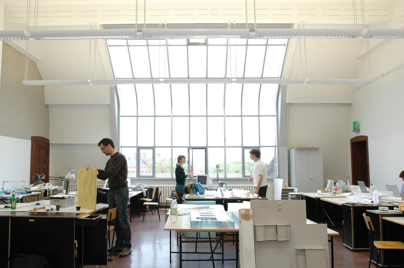 Bauhaus University Weimar Atelier Space