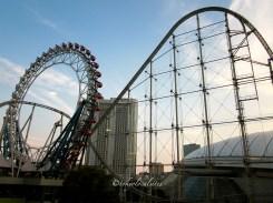 Roller Coaster & Ferris Wheel at Korakoen, LaQua