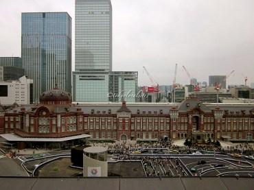 Restored Tokyo station