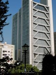 Xmas Tree Building Suidobashi Tokyo