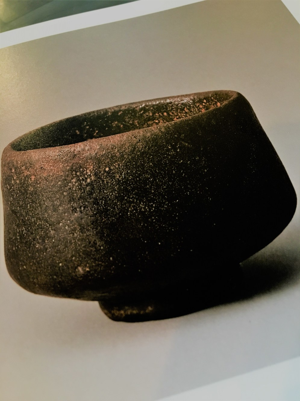 Chojiro black raku