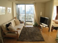 Japanese Apartment Living Room