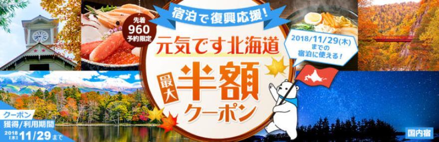 dトラベル /元気です北海道クーポン