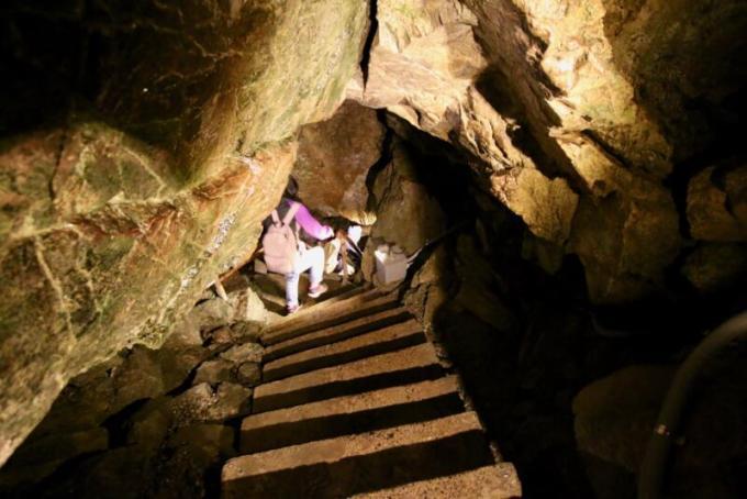 日原鍾乳洞の新洞