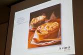 ズワイガニとごろごろ具材のサフランスープパイ包みランチコース/la claret