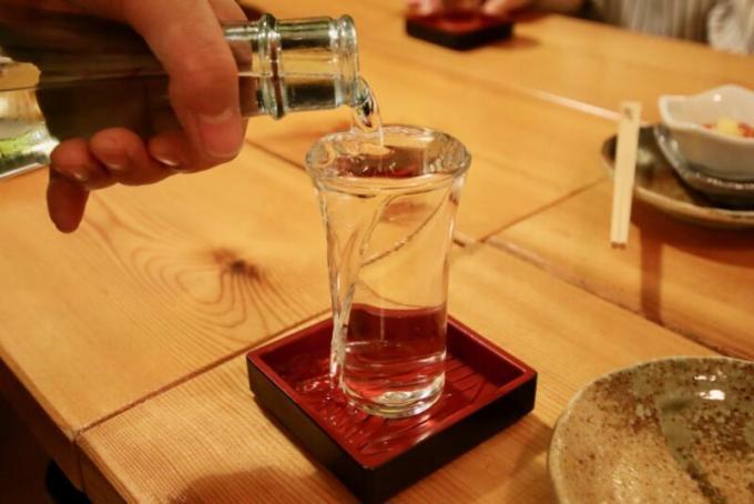 高砂酒造の純米吟醸酒「大雪」