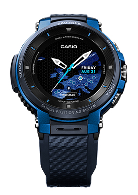 PRO TREK Smart WSD-F30 ブルー