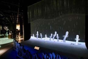 コケムス「体感展示ムーミン谷の自然」のニョロニョロ