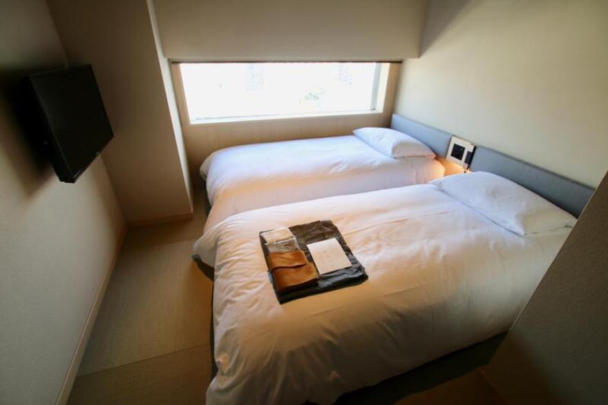 ONSEN RYOKAN 由縁 新宿 ツインルーム