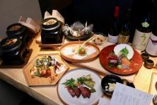 夕食 コース料理(3,850円〜)