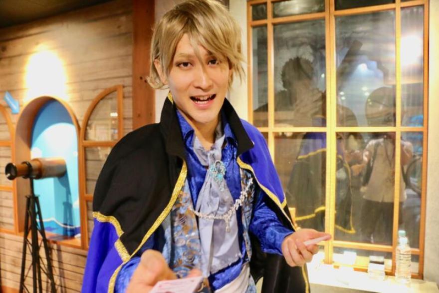 東京ワンピースタワー「ピーストレイル~冒険者と奇跡の泉~」王子たち