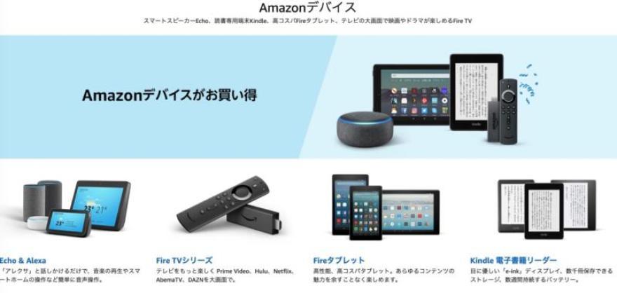 Echo Dotが50%オフ!Amazonプライデー2019で売れ筋のAmazonデバイス商品をチェックしてみた