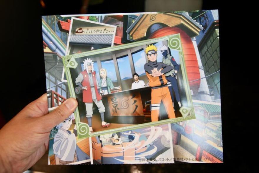 NARUTO×BORUTO 富士 木ノ葉隠れの里 忍道館 記念写真