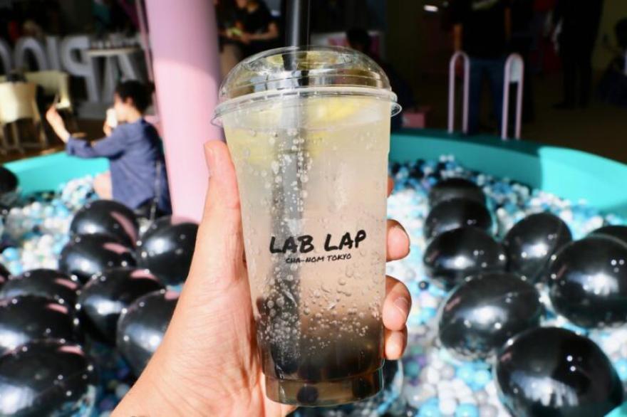 東京タピオカランド LAB LAP(ラベラペ)のさっぱりレモネード