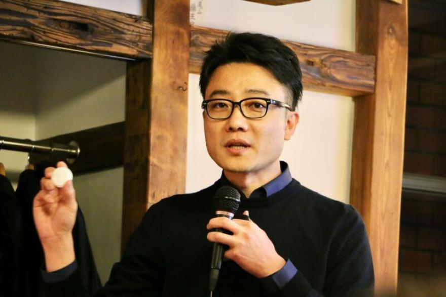 株式会社IoTBank 代表取締役社長の 曲 亮さん