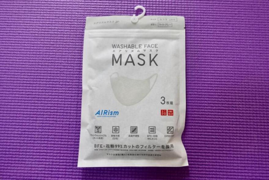改良版「エアリズムマスク(グレー/Lサイズ)」を買ってみた