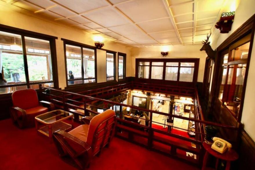 日光金谷ホテル 休憩所